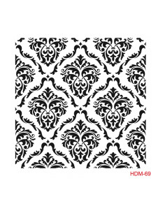 Szablon Home Decor mini rozm. 25x25cm - HDM98